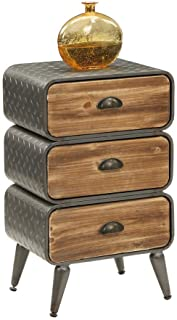 4D Concepts Urban DRAWER, Natural distressed wood/Black/Grey
