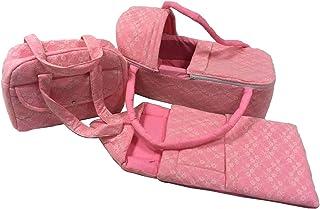 Baby Carrier Basket,Baby Sleeping Bag,Mother's Bag,Bottle Cover(4pcs Set)