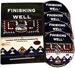 Quilting: Patchwork Schoolhouse Teaches Finishing Well on DVD, Lesson 7 of 7