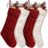 4-Pack Fesciory Christmas Stocking Gifts & Decorations