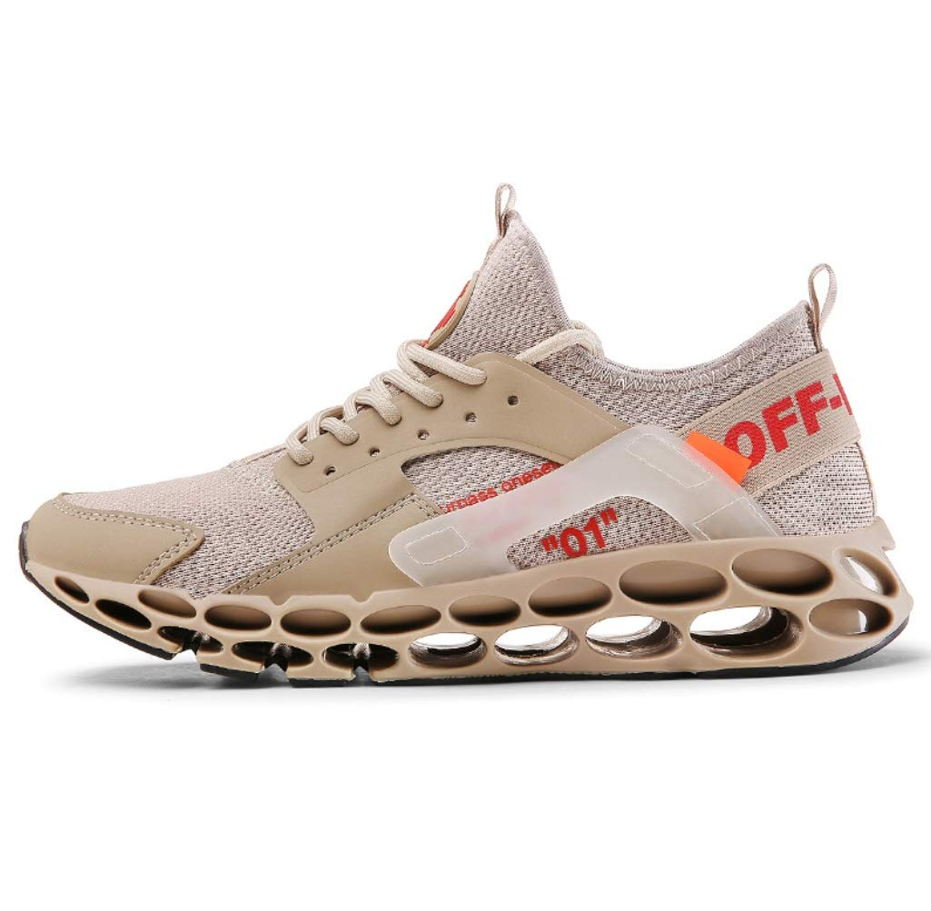 SHANGWU - Zapatos Deportivos Ligeros para Hombre, Zapatos para Hombre, Zapatos para otoño e Invierno, Zapatillas para Correr Bajas para Ayudar a los Estudiantes a Atar el Turismo, 43, Marrón: Amazon.es: Deportes