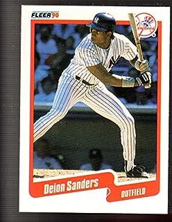 1990 Fleer #454 Deion Sanders