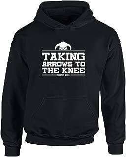 Brand88 - Taking Arrows to The Knee, Kids Printed Hoodie