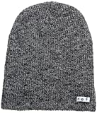NEFF Men's Daily Heather Beanie, Black/White, One Size
