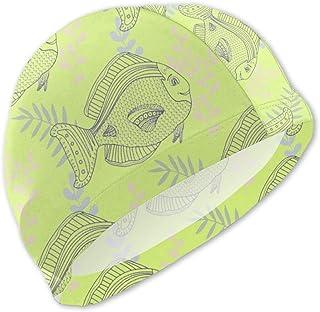 Gorro de baño Sea Pattern para niños Gorro de baño para niños
