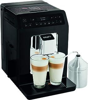 Krups Evidence Espresso EA8918 - Cafetera Superautomática 15 Bares, 15 Preajustes, Niveles de Intensidad, Molido Grano, Au...