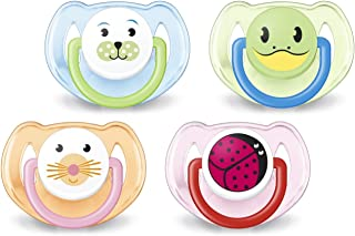 Philips Avent Orthodontic Pacifier, 6-18 Months, Animal...