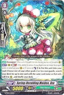 Cardfight!! Vanguard TCG - Spring-Heralding Maiden, Ozu (G-TD03/014EN) - G Trial Deck 3: Flower Maiden of Purity