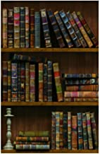 wallpaper library books design