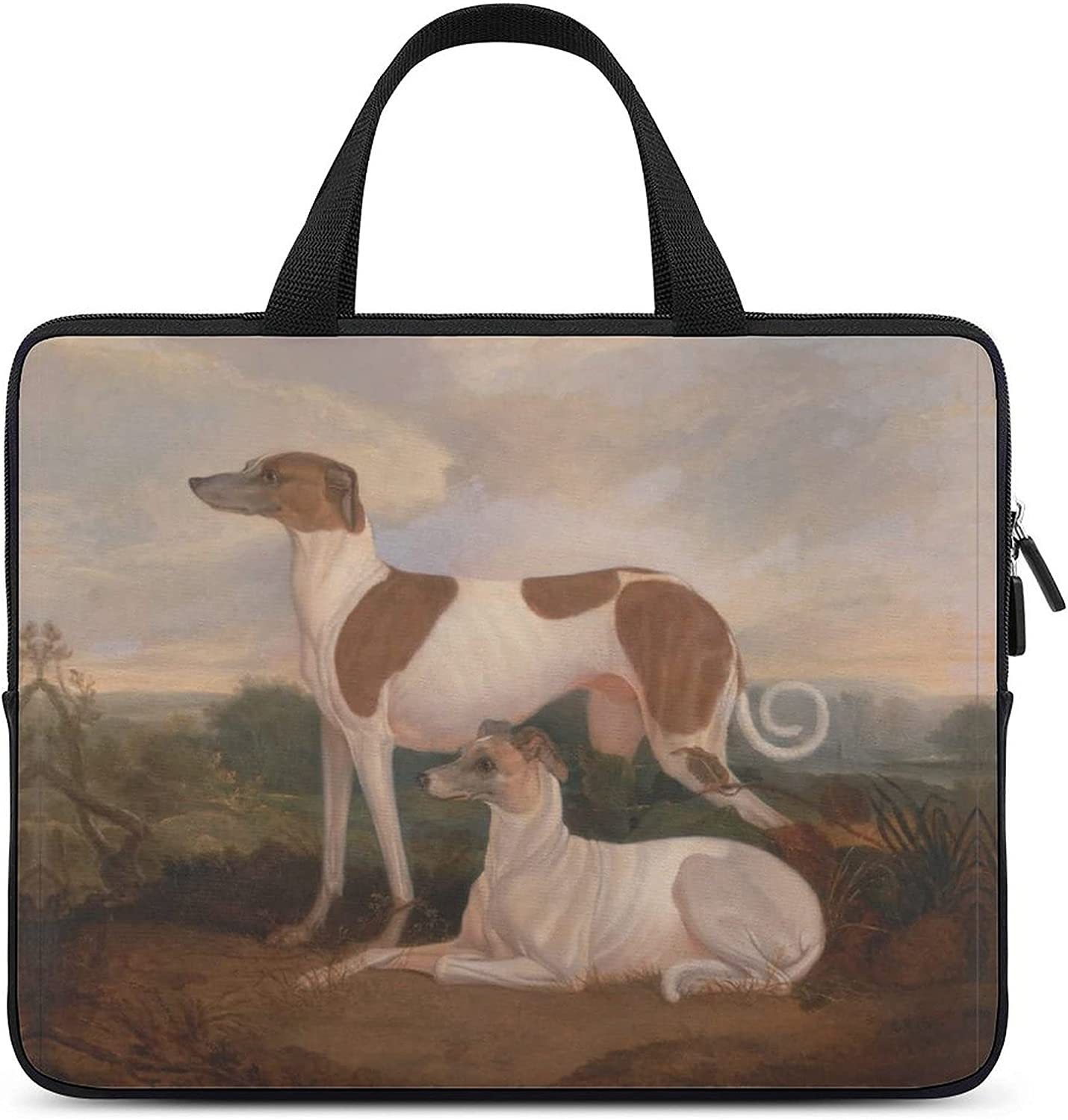 YHHLESDD Laptop CaseTwo Dogs Waiting MacBook with Compatible depot New sales Air