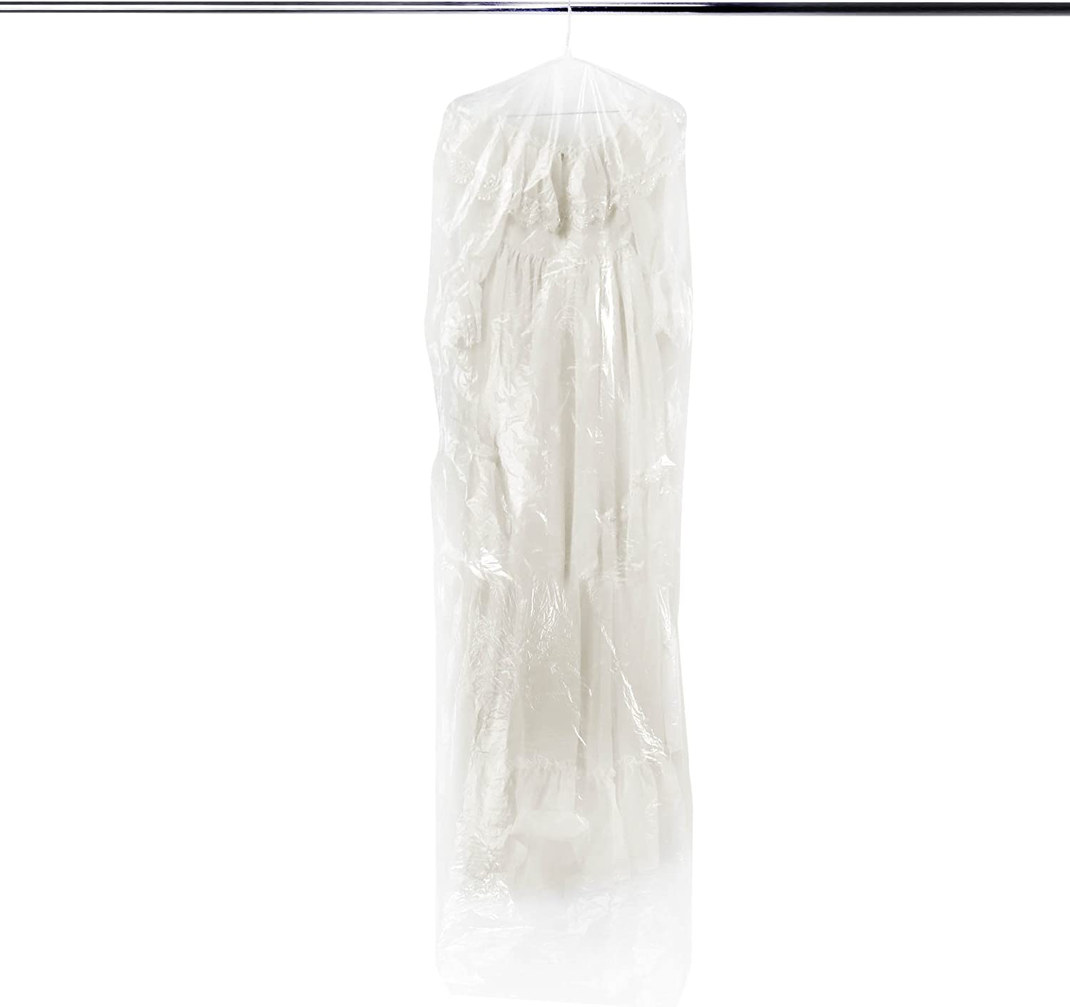HANGERWORLD 6 Clear 84inch Dry Surprise price Cleaning Laundry Garm Polythylene Limited price sale