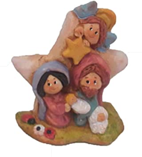 Belén Navidad Cerámica Estrella