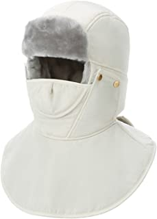 WINDAY Unisex Winter Trooper Trapper Hat Hunting Hat Ushanka Ear Flap Chin Strap Windproof Mask