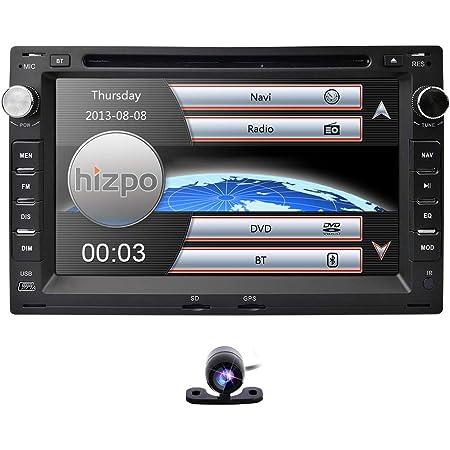7 Zoll 2 Din Autoradio Dvd Player Hizpo Car Stereo Elektronik