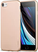 X-level iPhone 7 Case, iPhone 8 Case,Ultra Thin Soft TPU Back Cover Phone Case for Women Matte Finish Coating Grip Cover Compatible with iPhone 7 (2016)/iPhone 8 (2017) - 4.7`` Gold