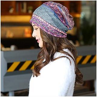 Hat Fashion Hat Autumn Winter Ladies Headscarf Hats Bowler Hat Fashion Accessories (Color : Purple, Size : 55-60cm)