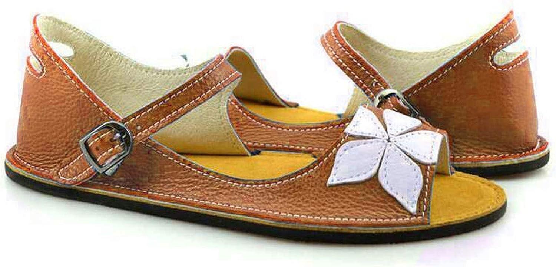 Lishfun Buckle Casual Flat shoes Solid Sandals Sandalias women