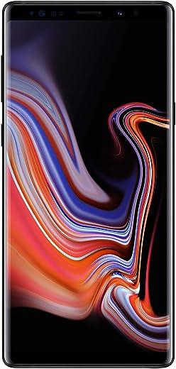 "Samsung Galaxy Note 9 (SM-N960F/DS) Dual SIM 128GB/6GB RAM, 6.4"", GSM Factory Unlocked - International Version - Midnight Black"
