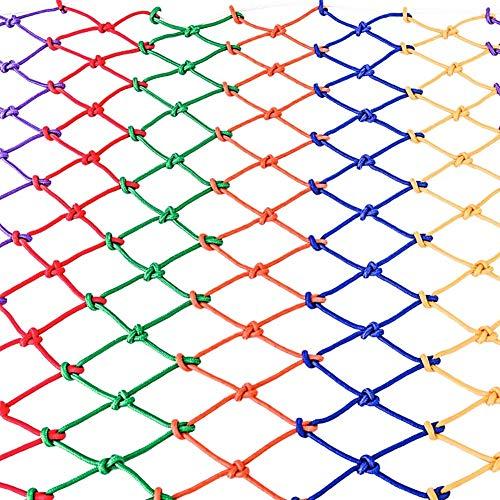 Kinderschutznetz Robustes Nylon-seilnetz Netz-sicherheitsnetz Für Treppengeländer Balkonfenster Außenzaunnetz Für Gartenspielplatz LKW-Netz (größe: 4 X 6 M)