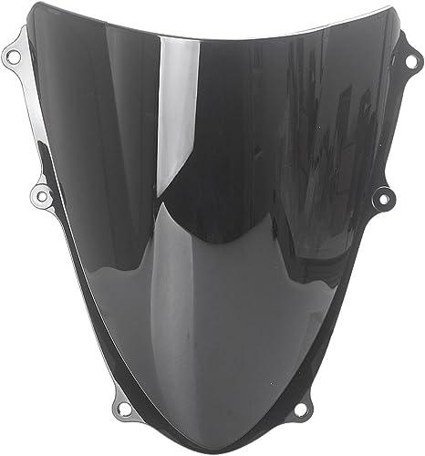 wholesale Mallofusa Motorcycle Windscreen online Windshield Compatible for Suzuki GSXR1000 K9 sale 2009 2010 2011 2012 2013 2014 2015 Black outlet sale