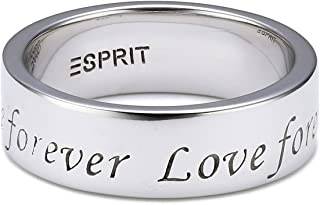 ESPRIT Women's Ring 925 Sterling Silver ESRG91737A pure love