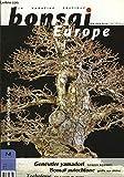 Bonsai Europe N°14 : Genévrier yamadori, par Lorenzo Agnoletti. Bonsaï autochtone, greffe sur chêne. Technique du pin à partir de graine.