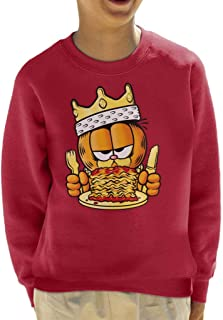 Notorious Cat Garfield Kid's Sweatshirt