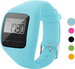 BATAUU Fitness Tracker, 3D Digital Watch Pedometer for Walking & Running, Simply Operation, Accurate Step Counter,Walking Distance Miles & Km, Calorie Counter, Activity Time