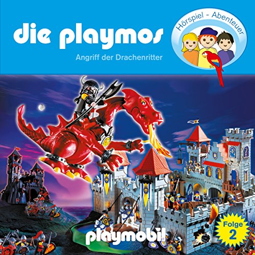 Angriff der Drachenritter (Die Playmos 2) Titelbild