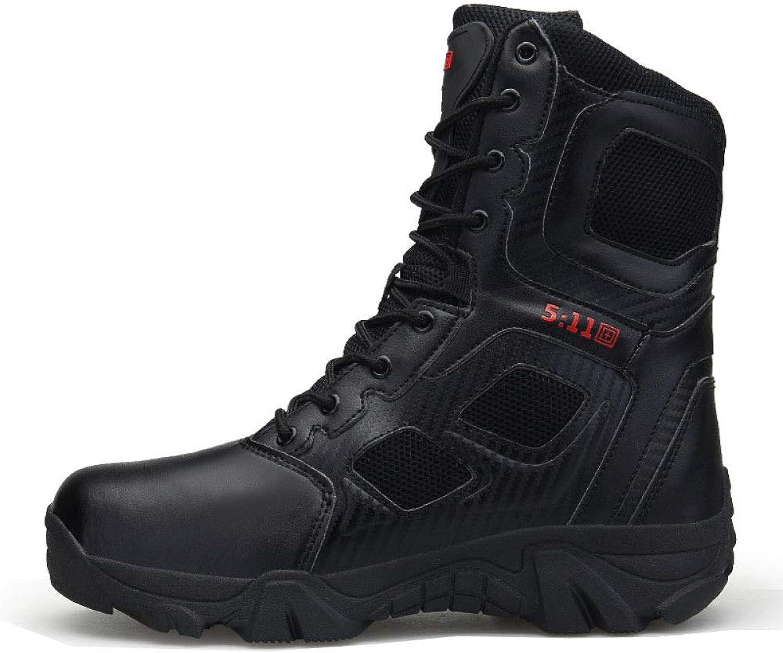 Men's Boots Martin Combat Waterproof Non-Slip Chelsea Desert Army Boots Hiking Boots