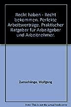 Perfekte Arbeitsverträge: Recht haben, Recht bekommen : praktischer Ratgeber für Arbeitgeber und Arbeitnehmer (German Edition)