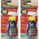 AquaChek - Bandelettes de test de brome pour piscine et spa - 2bouteilles