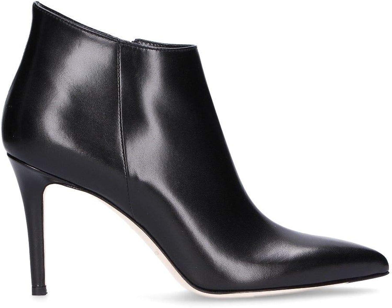 Sergio LEVANTESI Kvinnliga Dolly svart läder Ankle Ankle Ankle stövlar  det bästa urvalet av