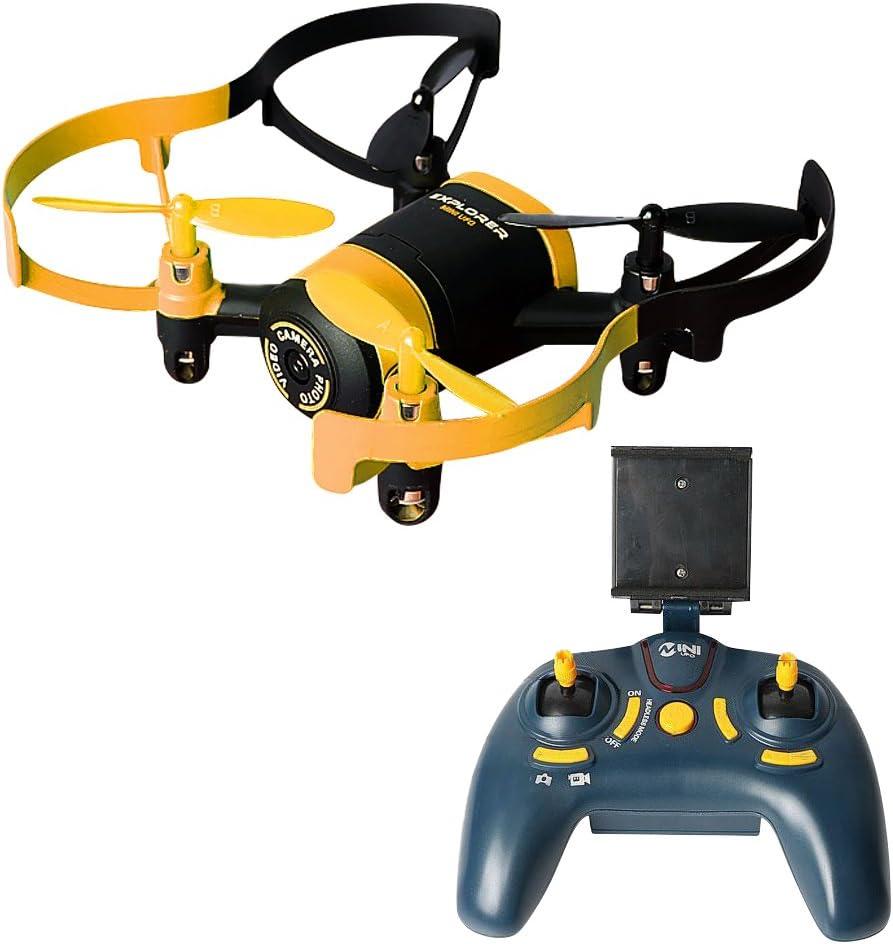 kingtoys® JXD 512W Mini RC Drone UFO WiFi FPV 0.3MP CAM 2.4G 4CH 6 assi-giroscopio RC Quadcopter