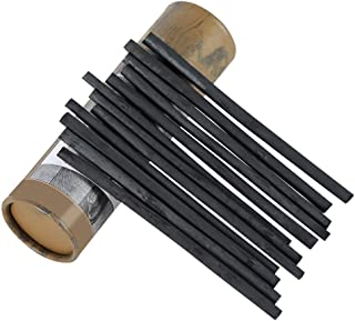 MyLifeUNIT Vine Charcoal Sticks, Willow Sketch Charcoal Pencils for Drawing, Pack of 25 (4-5 MM Dia)