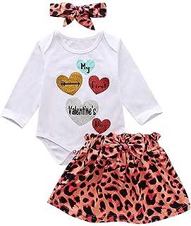 Impression Pantalon,6Mois-4Ans Cadeau de No/ël Saint Valentin Vetement B/éb/é Fille Ete Ensemble Bebe Garcon Naissance Printemps Chemise Blouse t Shirt Pyjama Fille Manche Longue Haut Top Body