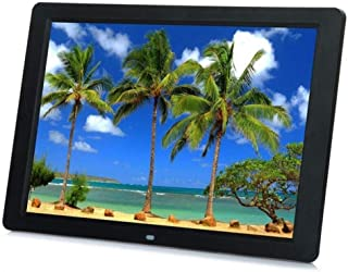 HUALEIYUAN AU 15.4 Inches HD 15.4inch TFT-LCD 1280 * 800 Digital Photo Frame Picture Album Clock MP3 MP4 Movie AD Player w...