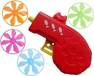Scicalife 1 st flygande skiva tefat launcher katthämtningsleksak jagar spel leksak samspel träning leksak (röd) husdjursti...