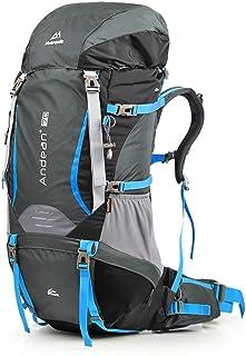 Shoulder Climbing Bag Travel Outdoor Backpack Men and Women Walking Large Capacity Rucksack 70L XLSM (Color : D)