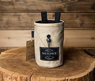 STATIC Waxed Canvas Chalk Bag (Bone) Made in the USA