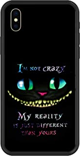 JOYLAND Black Gel Phone Case Bumper Cover Cat Smile Phone Case Protective Cover Shell for iPhone 6 Plus/6S Plus