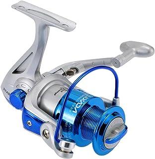comprar comparacion Lixada Carrete de Pesca Spinning 8BB Rodamientos de Bolas Intercambiable Mano Izquierda/Derecha Manija Plegable ST4000 5.1: 1