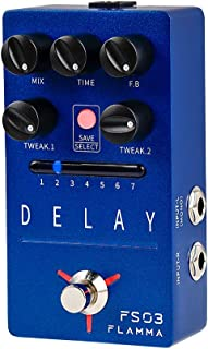 FLAMMA FS03 Guitar Delay Pedal Stereo Digital Delay...