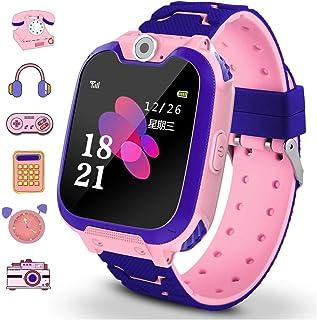Winnes Reloj Inteligente para Niños, Niña La Musica y 7 Ju