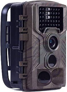 QTCD Cámara H881 Trail-16Mp 1080P HD 150 ° Gran Angular Alcance De Detección De 75 Pies - 2.4 Pulgadas IR Led Edición Nocturna Monitoreo De Vida Silvestre Y Seguridad del Hogar