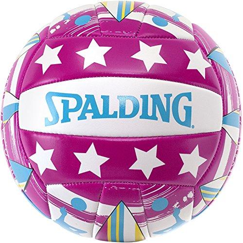 Spalding Ball Beachvolley Miami 72-323Z - Balón de voleibol para exterior, color multicolor, talla 5