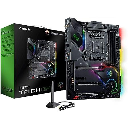 ASRock AMD Ryzen5000シリーズ(Soket AM4)対応 X570チップセット搭載 ATX マザーボード 【国内正規代理店品】X570 Taichi Razer Edition