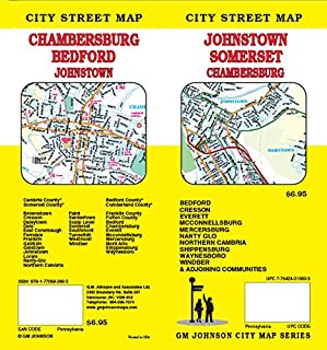 Johnstown / Somerset / Cambria & Somerset Counties, PA Street Map