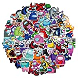 Among Us Stickers For Kids PVC Luggage Laptop Suitcase Car Skateboard Sticker Kawaii Cute To DIY Stationery 100Pcs