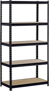 Edsal UR245L-BLK Maxi-Rack 5-Shelf Unit, 48